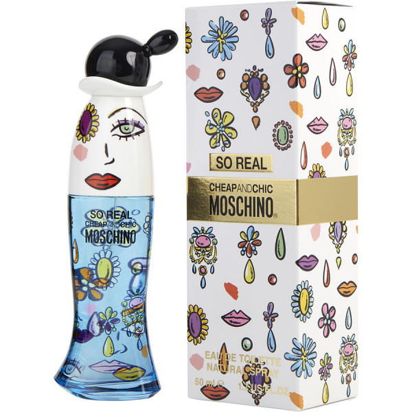 Cheap & Chic So Real - Moschino Eau de Toilette Spray 50 ml