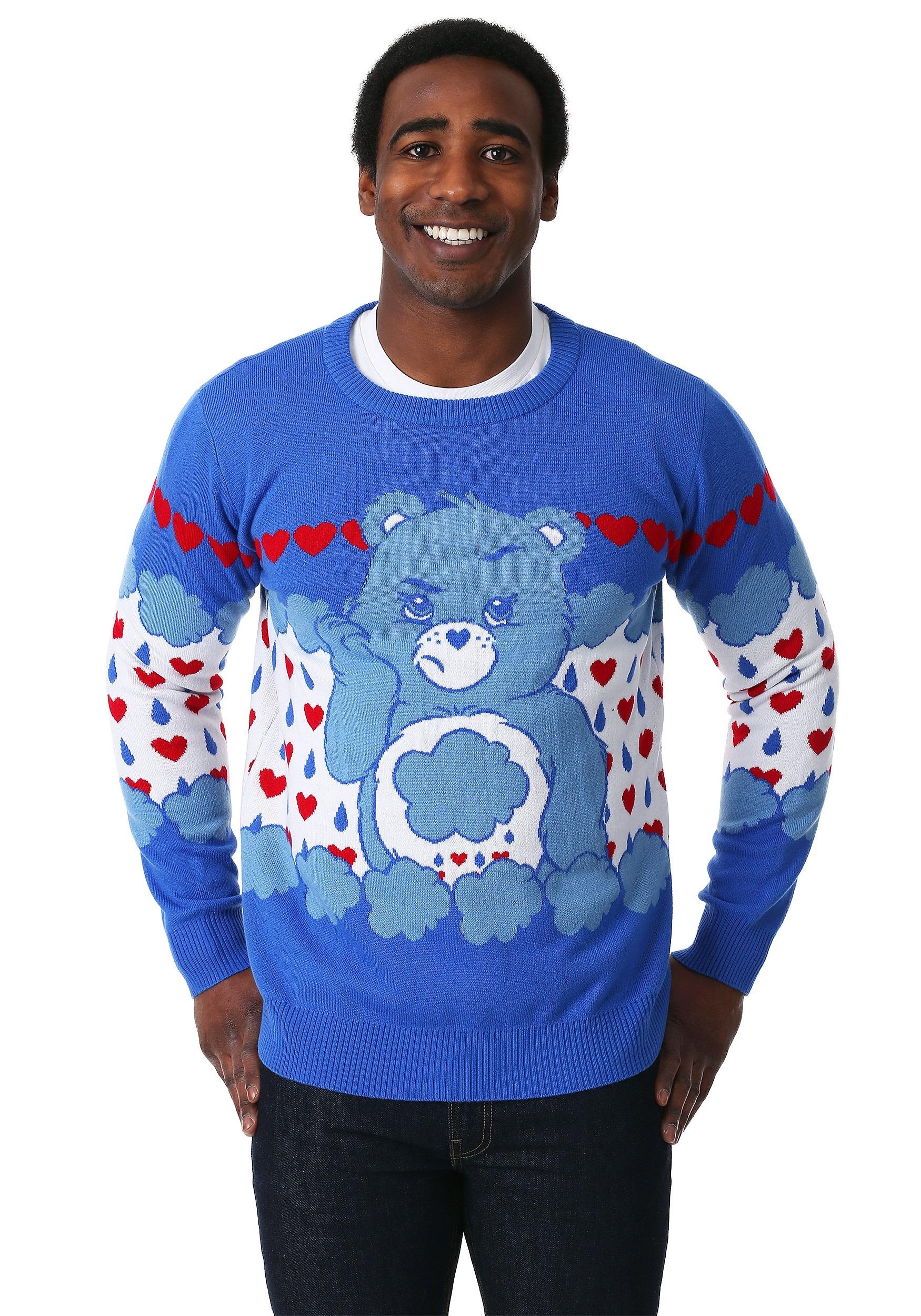 Grumpy Bear Adult Care Bears Ugly Christmas Sweater