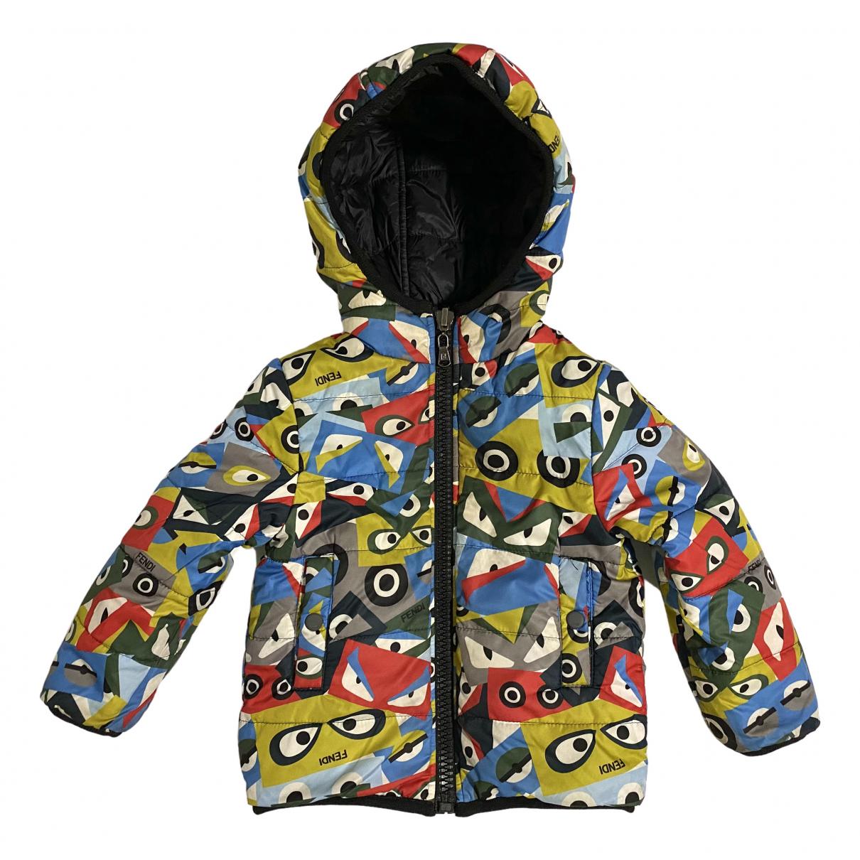 Fendi - Blousons.Manteaux   pour enfant - multicolore