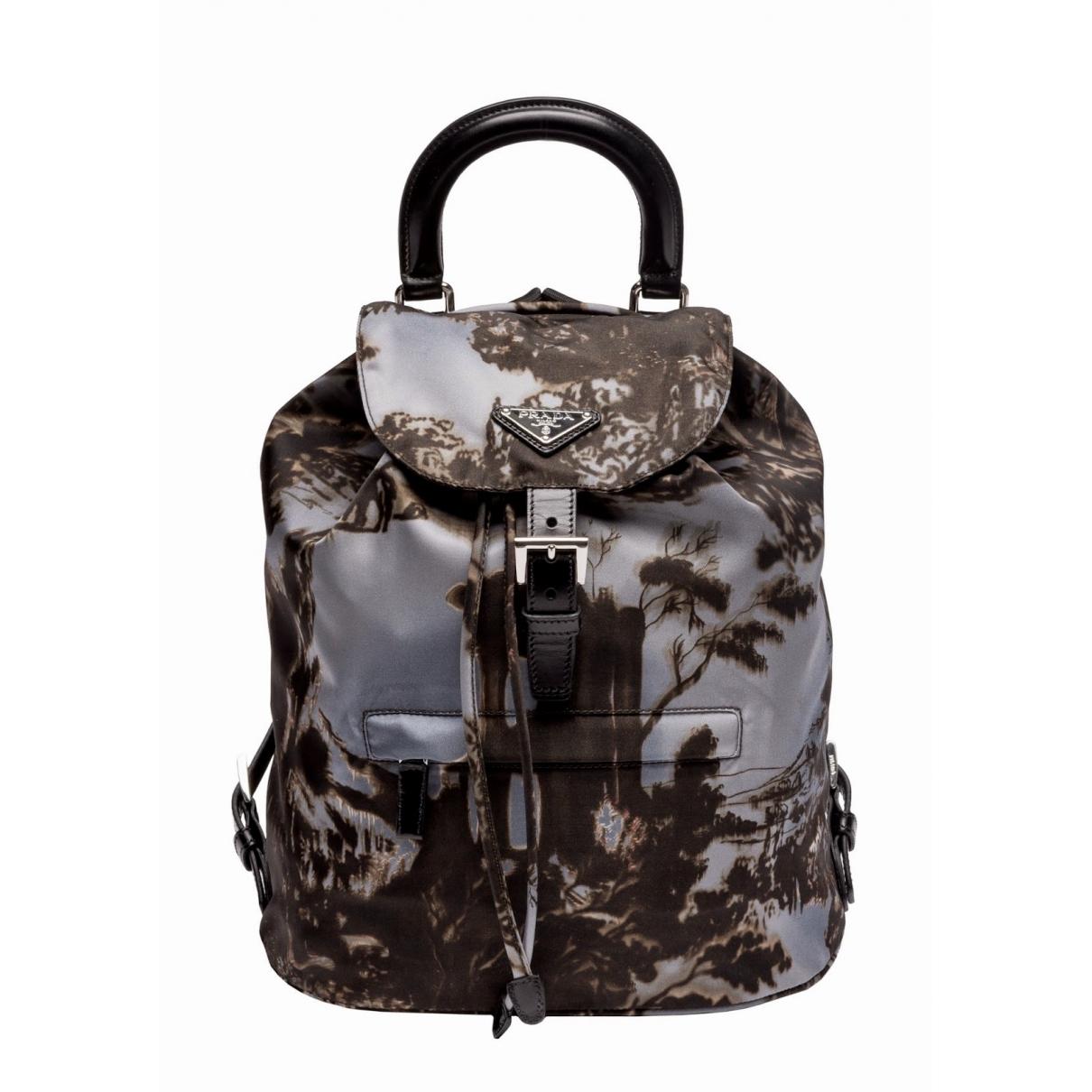 Prada \N Multicolour Cloth backpack for Women \N