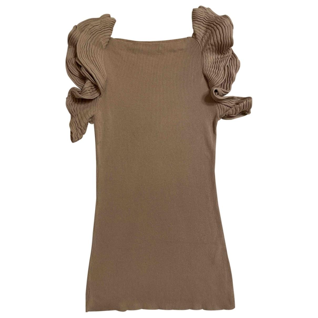 Liu.jo \N Pink Cotton Knitwear for Women 44 IT
