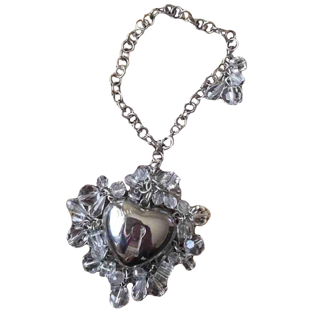 Dior - Pendentif   pour femme en acier - argente