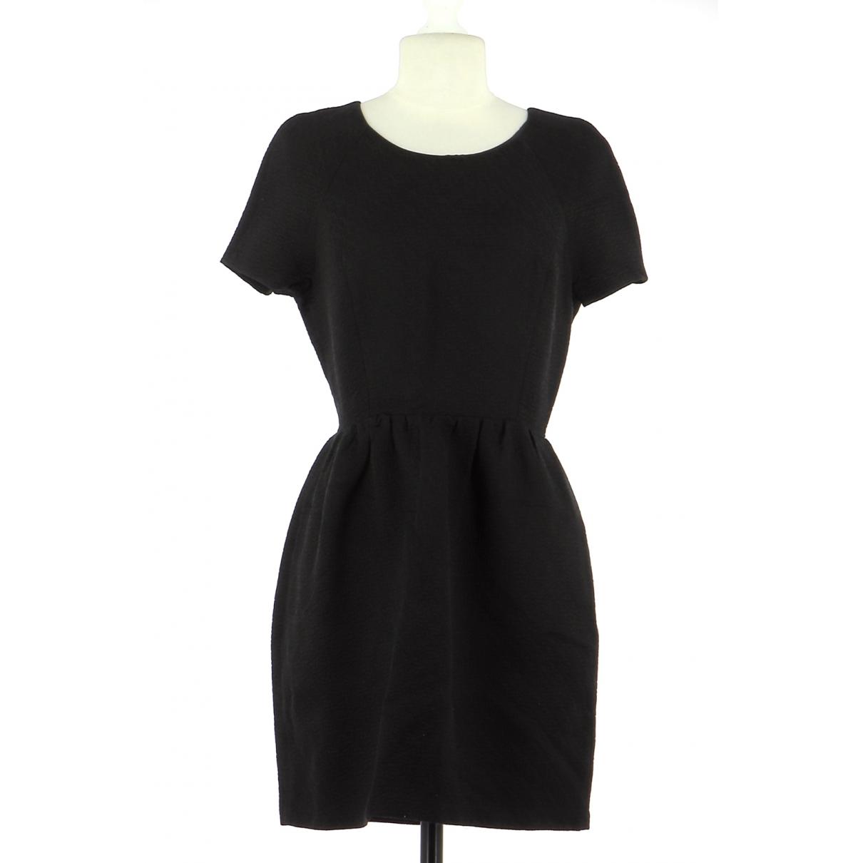 Bel Air - Robe   pour femme en coton - noir