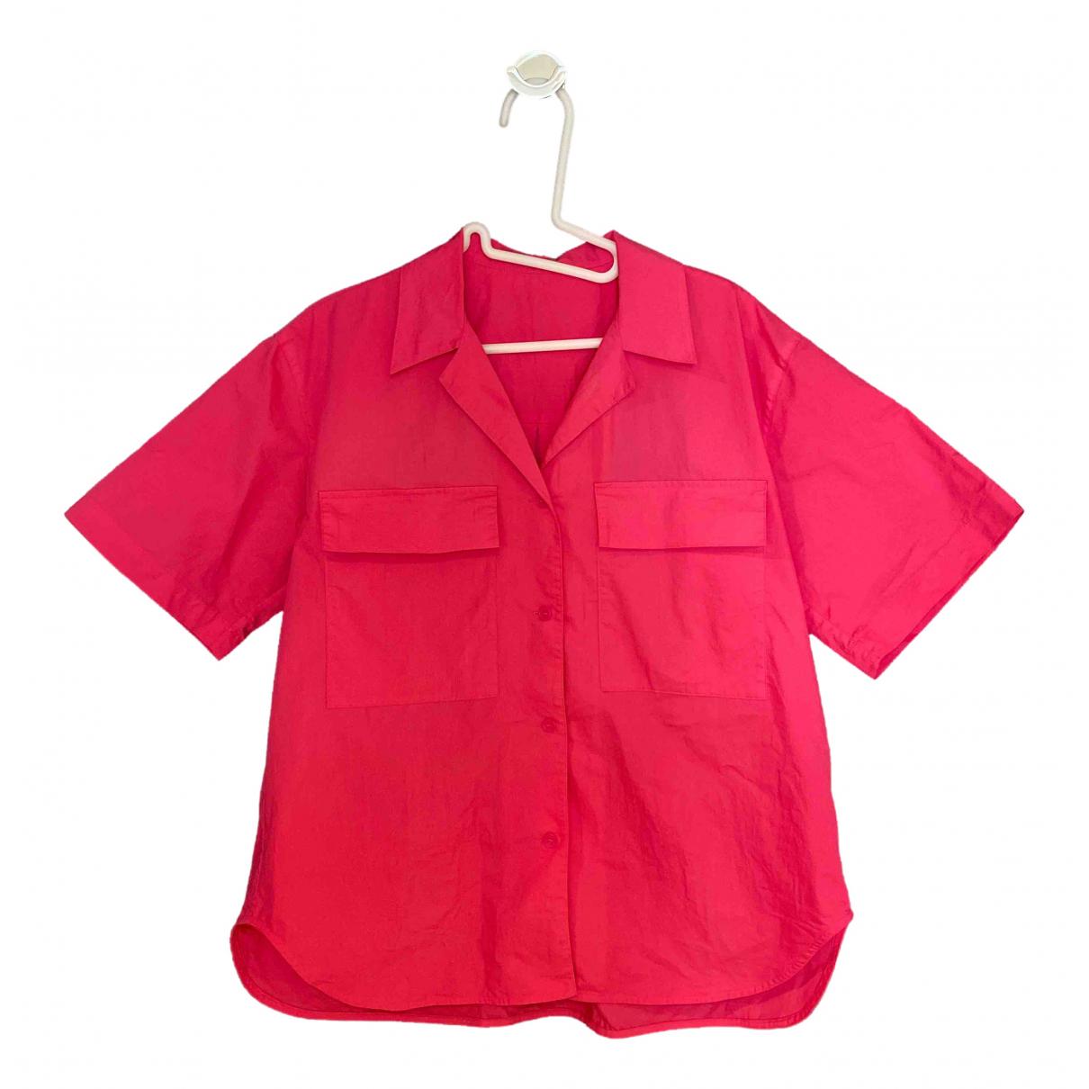 Mo&co - Top   pour femme en coton - rose