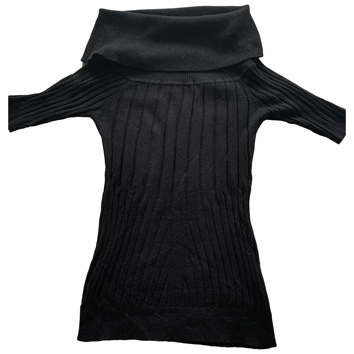 D&g - Pull   pour femme en coton - noir