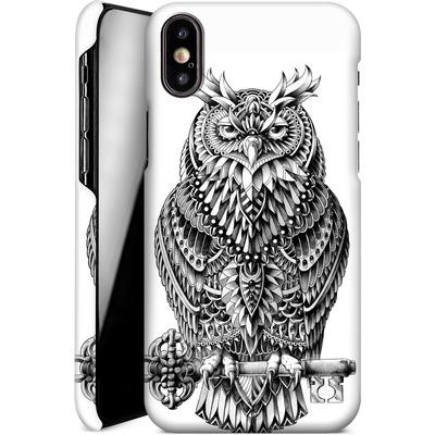 Apple iPhone X Smartphone Huelle - Great Horned Owl von BIOWORKZ