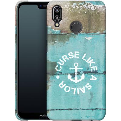 Huawei P20 Lite Smartphone Huelle - Curse Like A Sailor von Statements