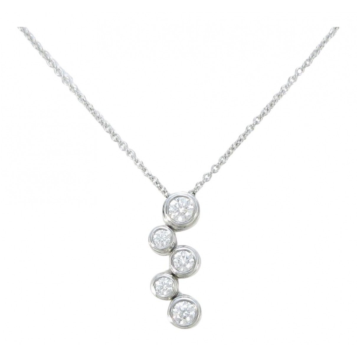Tiffany & Co \N Gold White gold necklace for Women \N