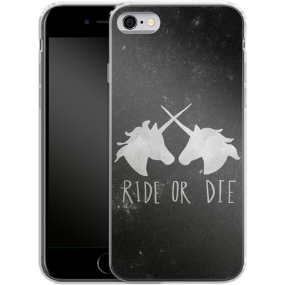 Apple iPhone 6 Silikon Handyhuelle - Ride or Die von Leah Flores