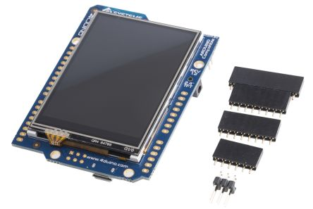 4D Systems 4Duino-24 TFT LCD Colour Display / Touch Screen, 2.4in, 240 x 320pixels