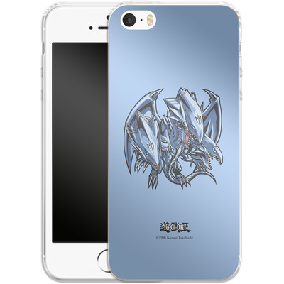 Apple iPhone 5 Silikon Handyhuelle - Blue-Eyes Ultimate Dragon SD von Yu-Gi-Oh!