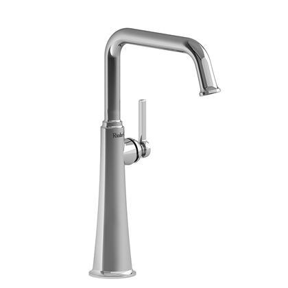 Momenti MMSQL01LPN-10 Single Hole Lavatory Faucet with L Lever Handle 1.0 GPM  in Polished