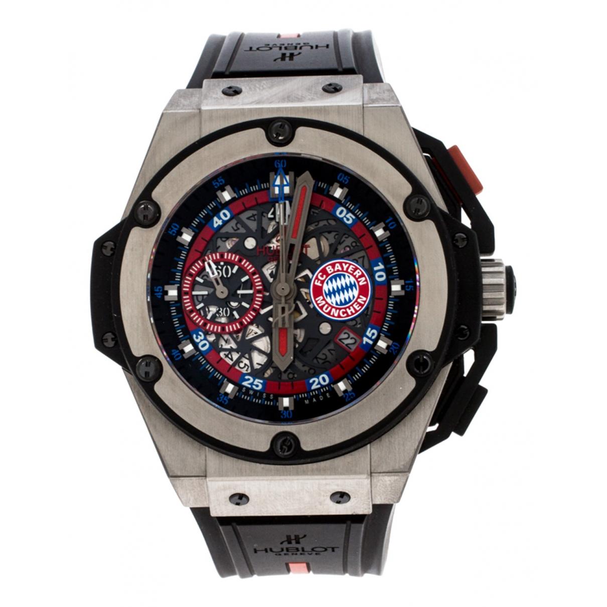 Hublot \N Black Titanium watch for Men \N