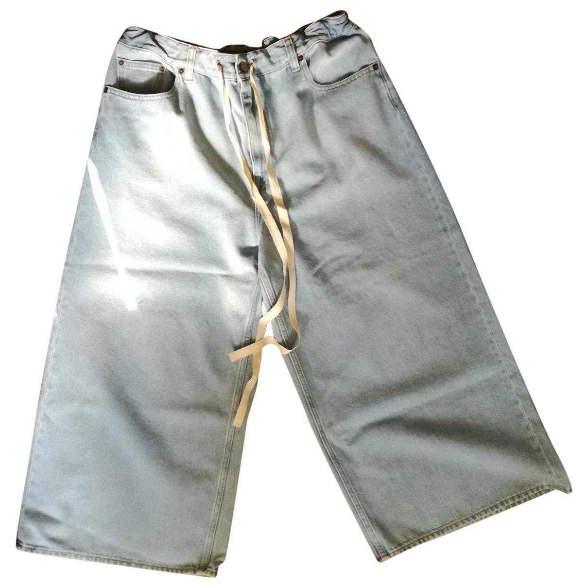 Mm6 \N Jeans in  Blau Denim - Jeans