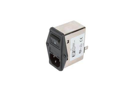 XP Power EMC FILTER IEC INLET & LINE FILTER 10A