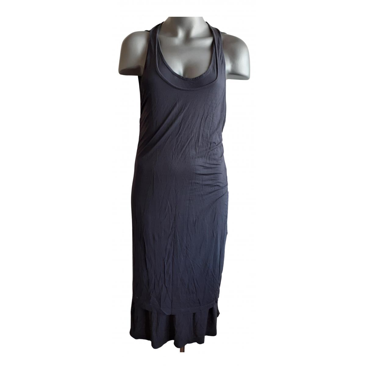 Mcq \N Kleid in  Grau Viskose