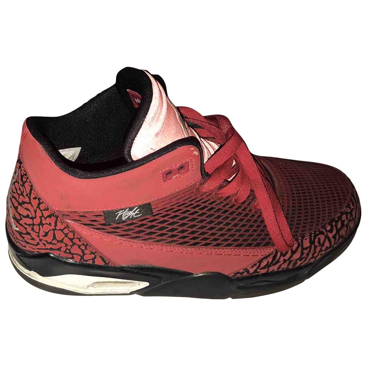 Jordan - Baskets   pour homme en caoutchouc - rouge