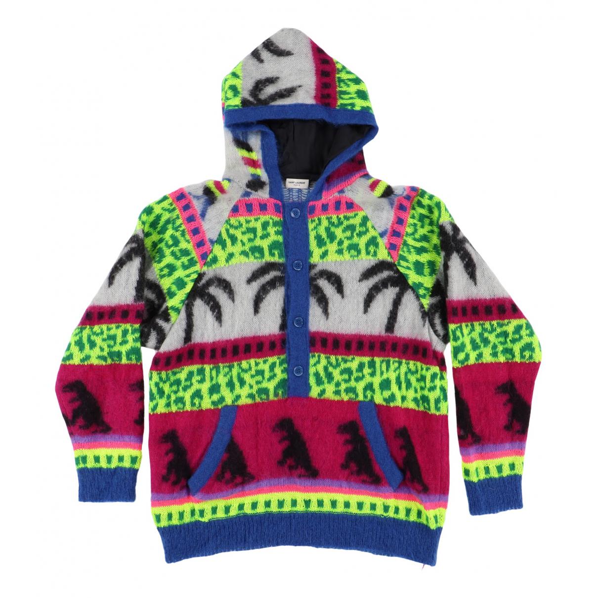 Saint Laurent \N Pullover.Westen.Sweatshirts  in  Bunt Wolle