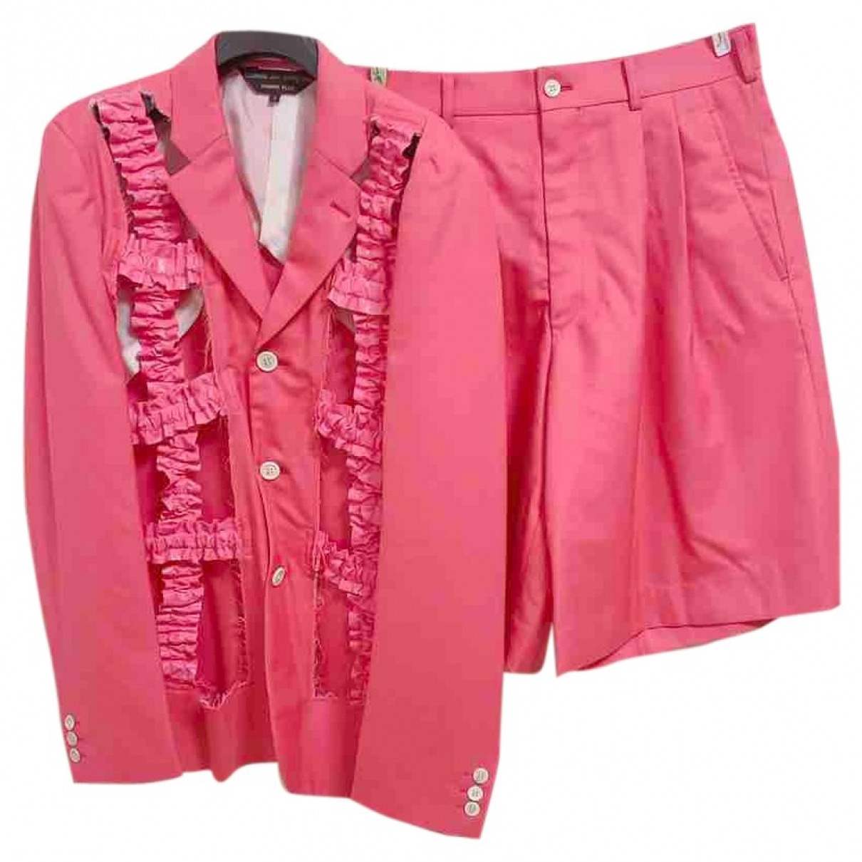 Comme Des Garcons \N Anzuege in  Rosa Baumwolle