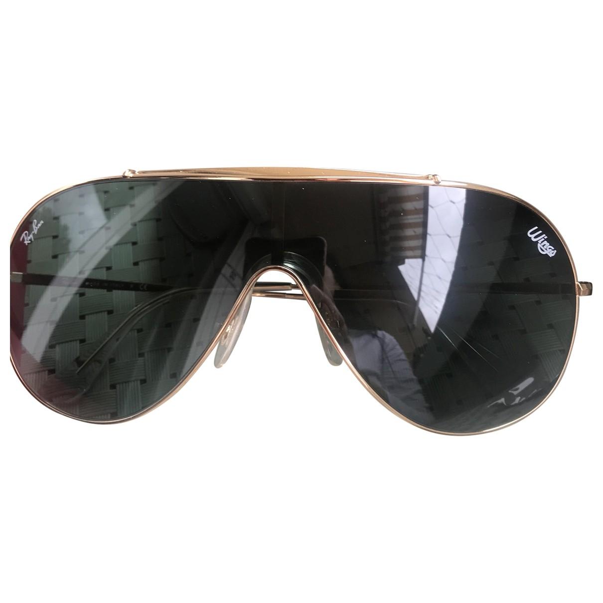 Ray-ban \N Gold Metal Sunglasses for Men \N