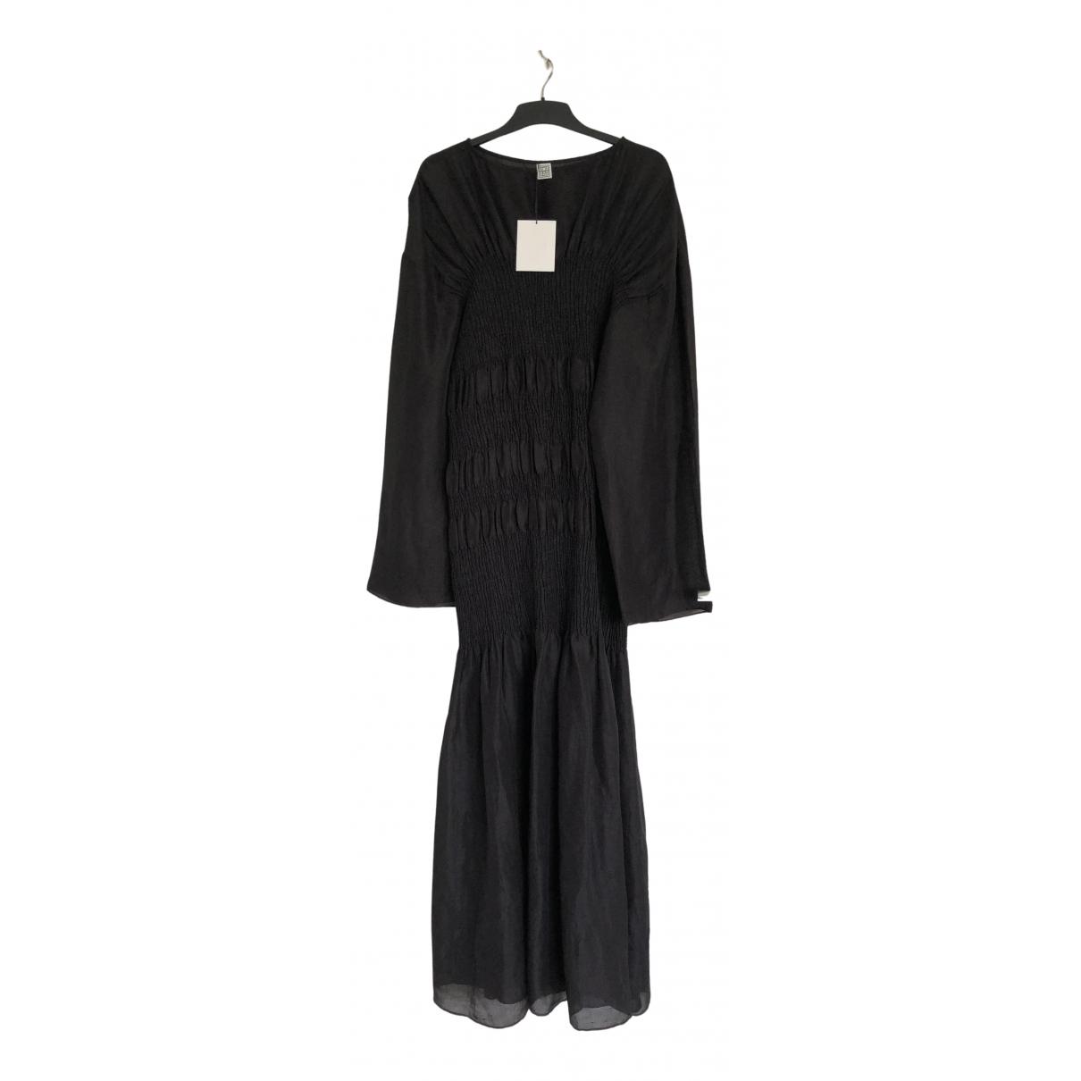 Maxi vestido de Seda Toteme