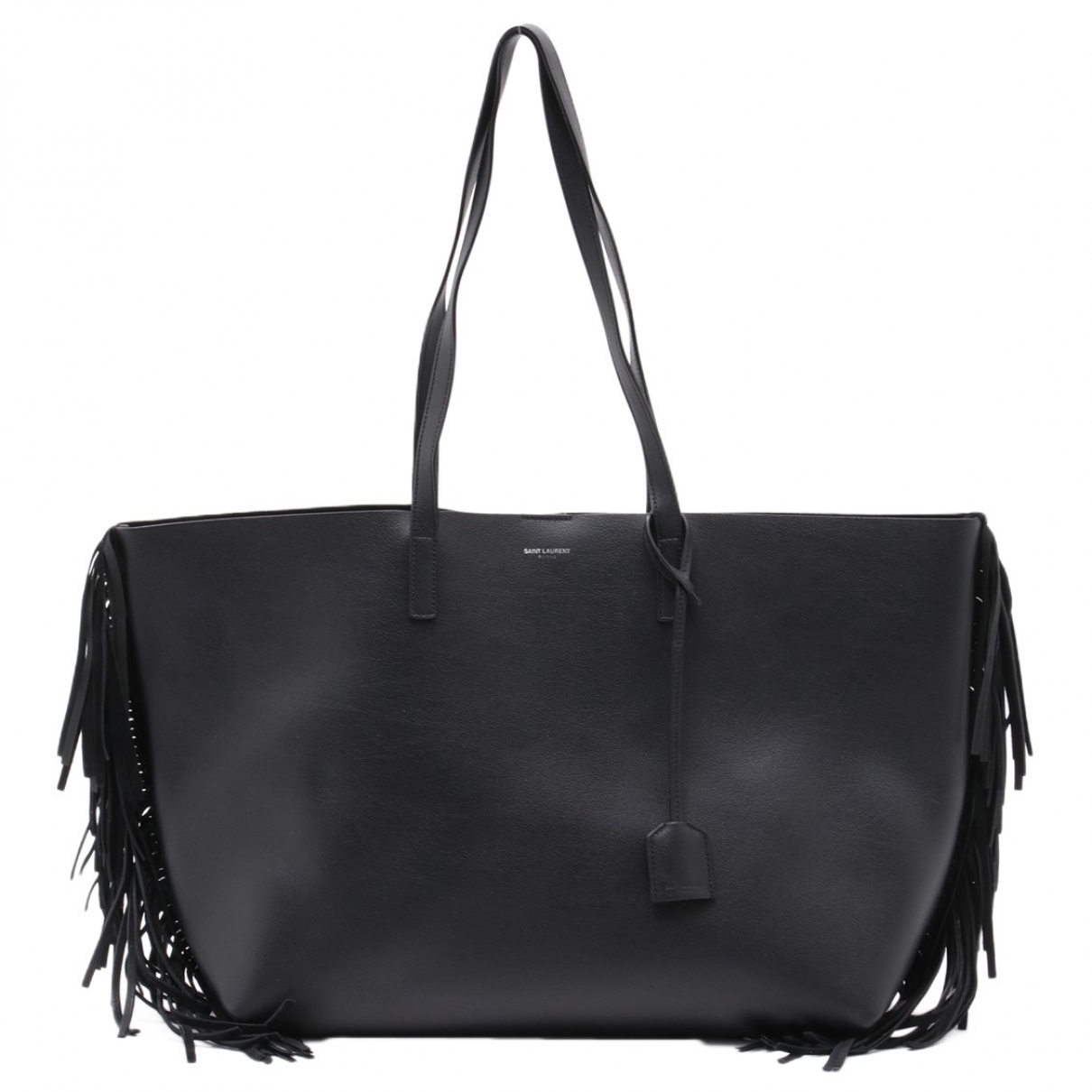 Saint Laurent Shopping Black Leather handbag for Women \N