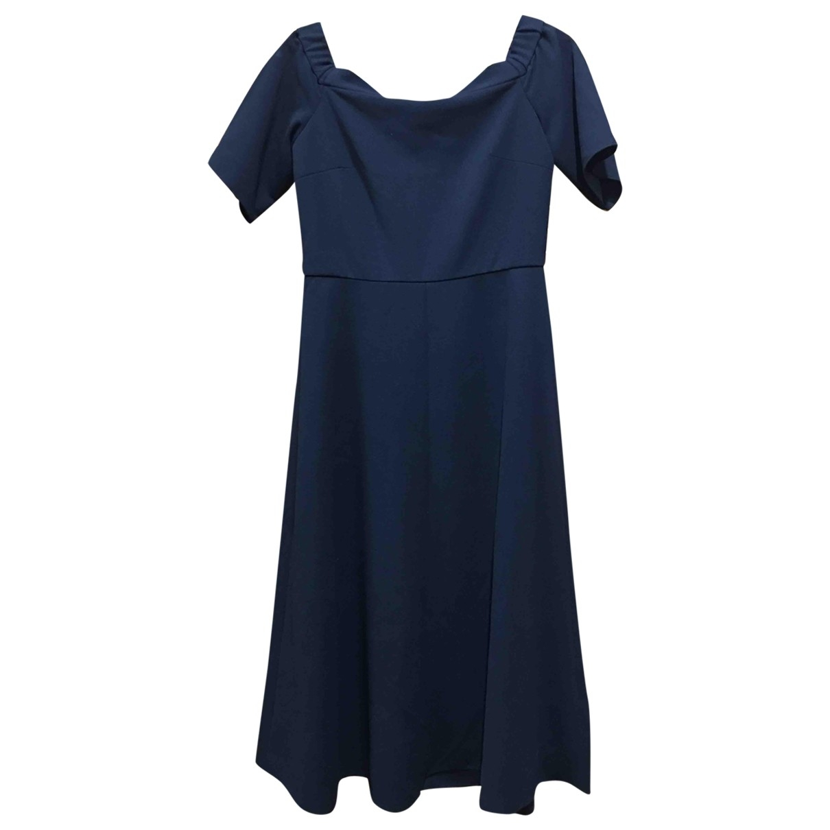 Tibi \N Black Cotton - elasthane dress for Women 2 US