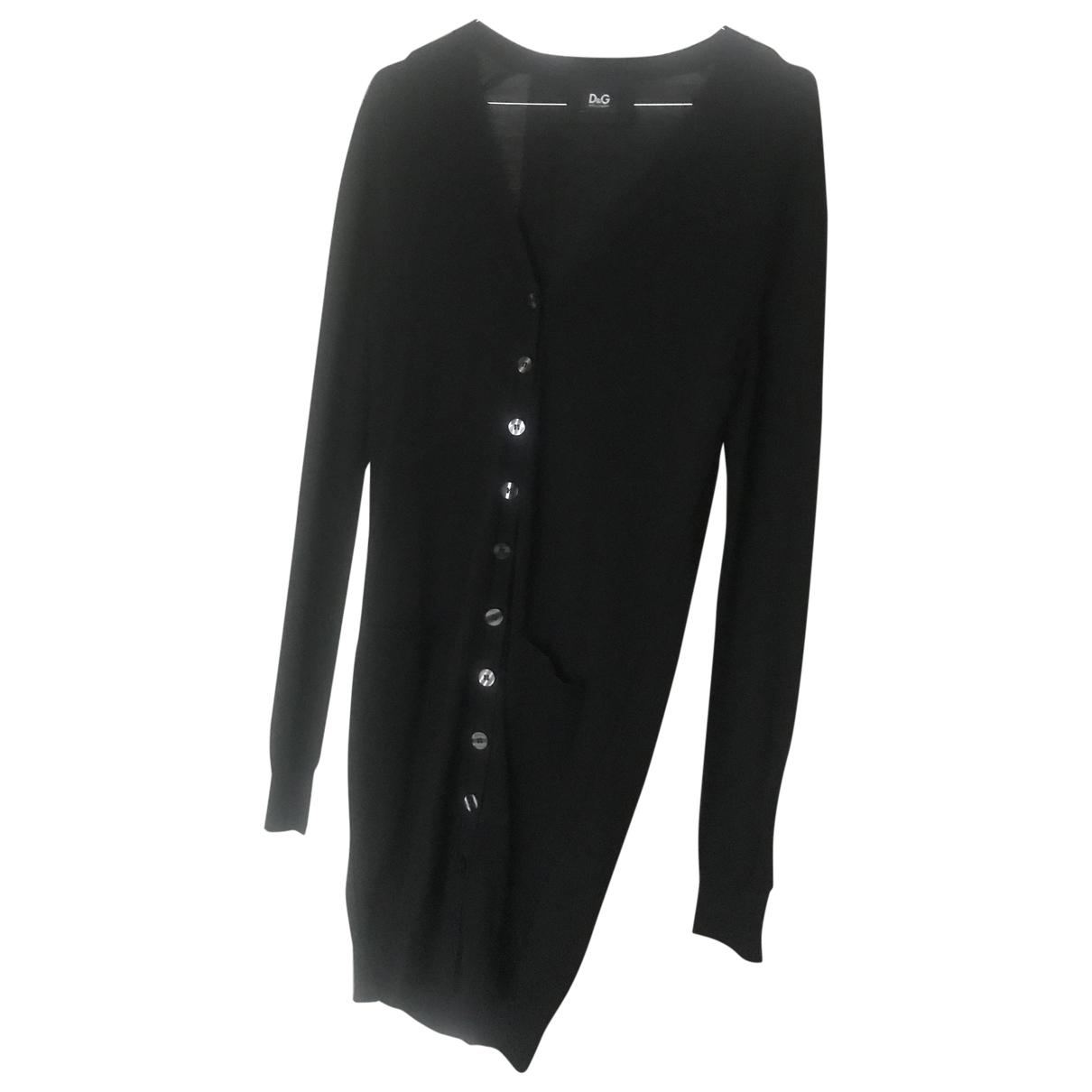 D&g \N Pullover in  Schwarz Wolle