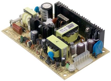 Mean Well PSD 45 45W Isolated DC-DC Converter Chassis Mount, Voltage in 36 → 72 V dc, Voltage out 12V dc