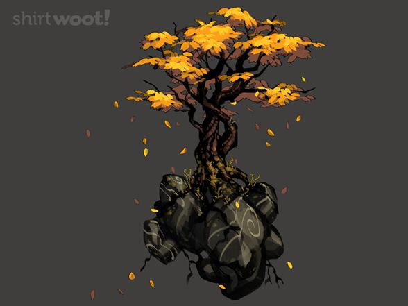 Falling Leaves T Shirt