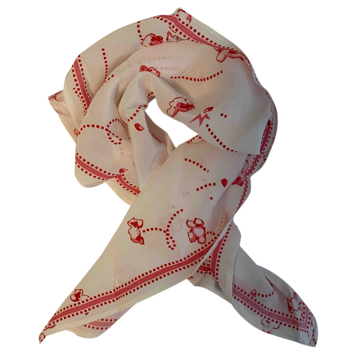 Rockins N White Silk scarf for Women N