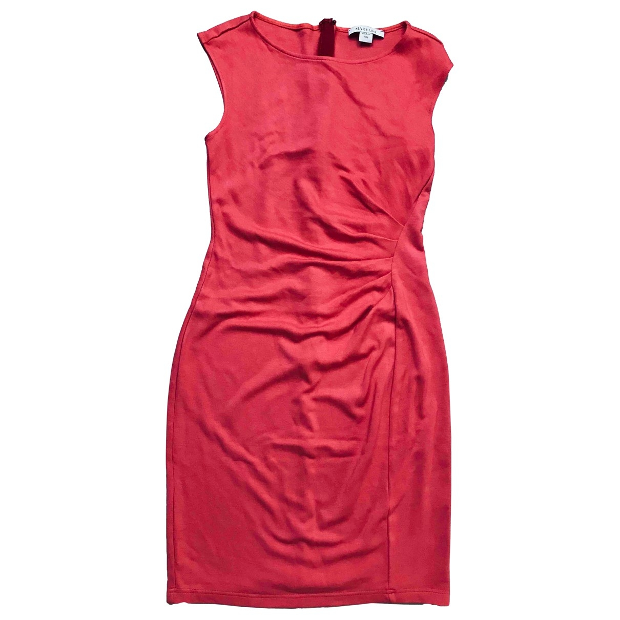 Marella \N Kleid in  Rot Viskose