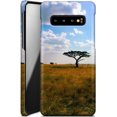 Samsung Galaxy S10 Smartphone Huelle - Tanzanian Savanna von Omid Scheybani
