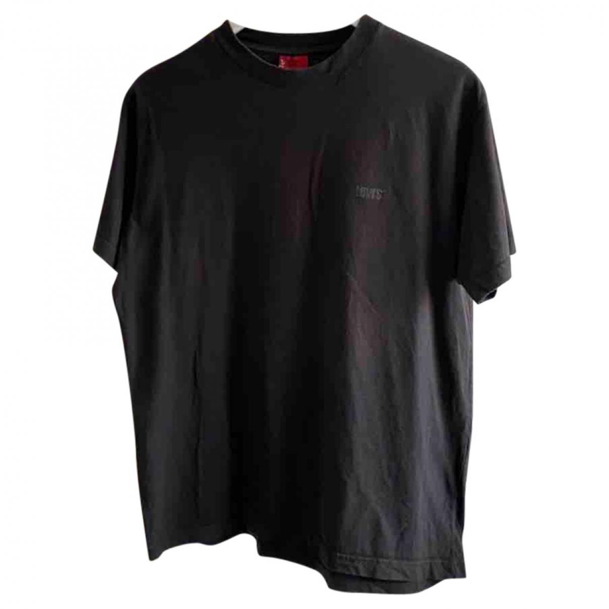 Levi's \N Black Cotton T-shirts for Men L International