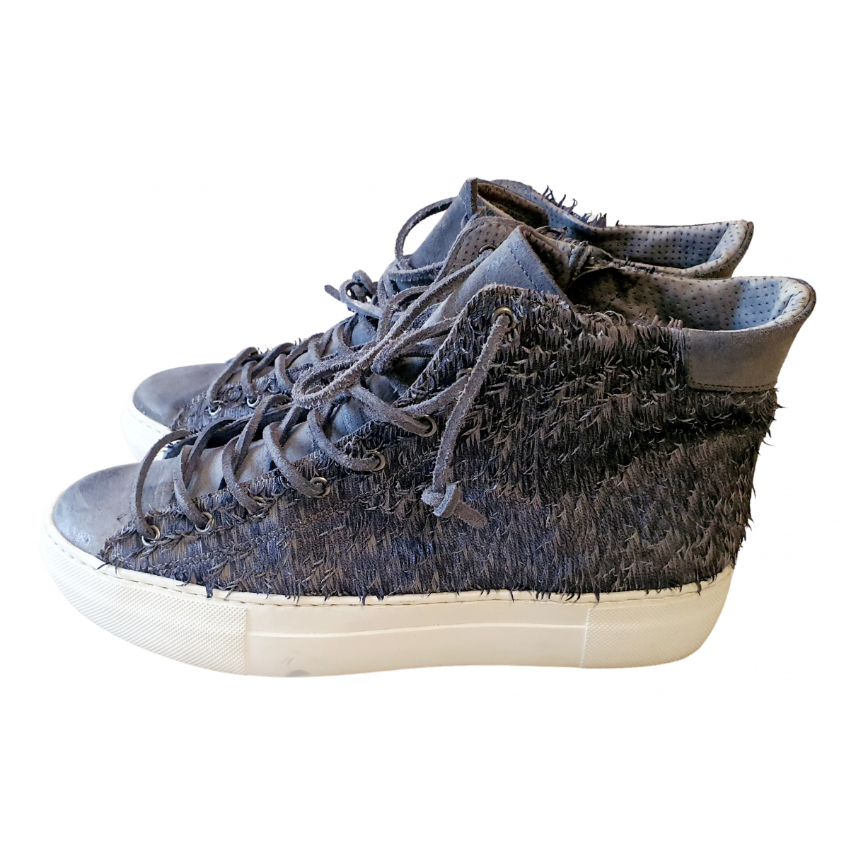 Non Signé / Unsigned N Leather Trainers for Women 41 EU