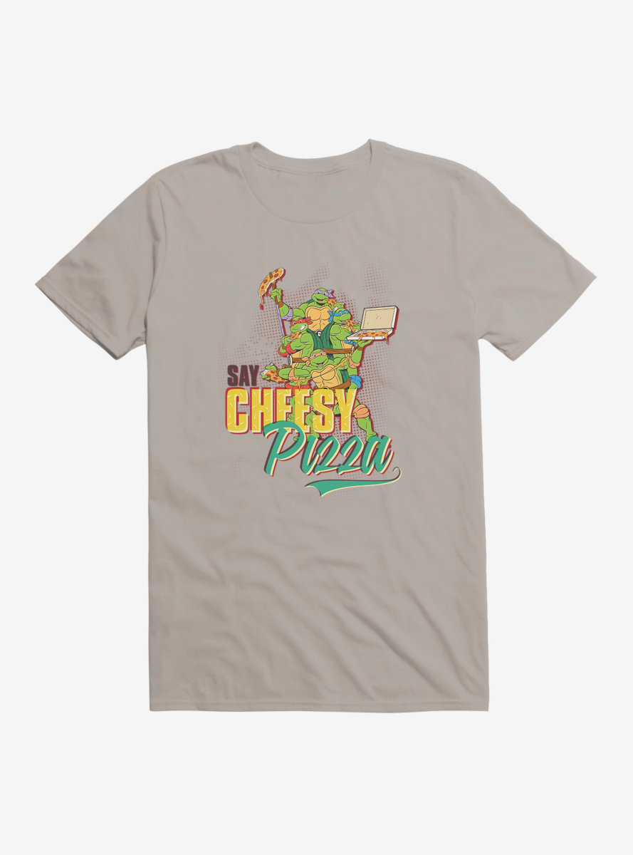 Teenage Mutant Ninja Turtles Best Pizza Cheesy T-Shirt