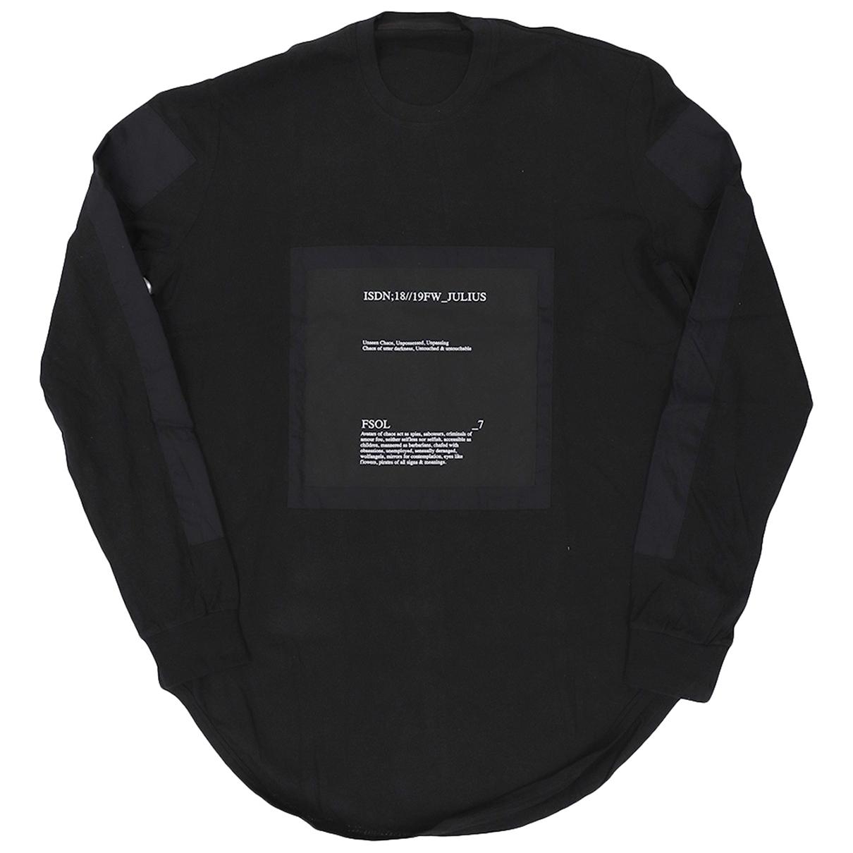 Julius 7 \N Black T-shirts for Men 4 0 - 6