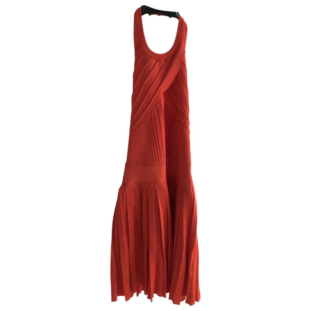 Balmain \N Red dress for Women 36 FR
