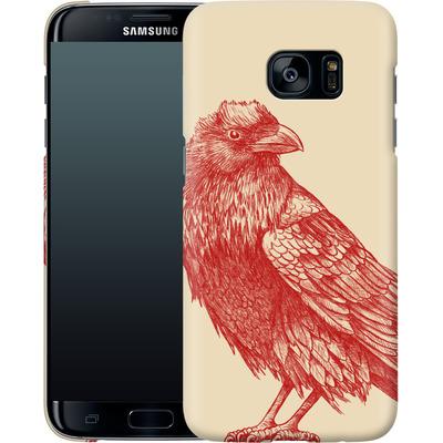Samsung Galaxy S7 Edge Smartphone Huelle - Red Raven von Terry Fan