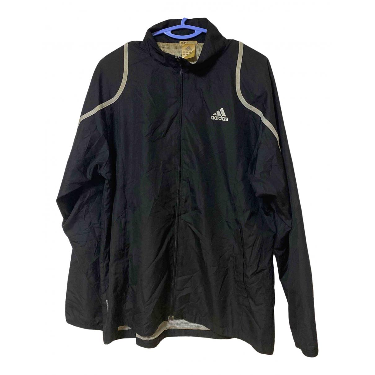 Adidas - Vestes.Blousons   pour homme en coton - noir