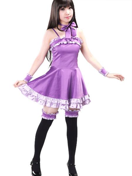 Milanoo Vampire Knight Yuuki Cross Evening Dress Cosplay Costume Halloween