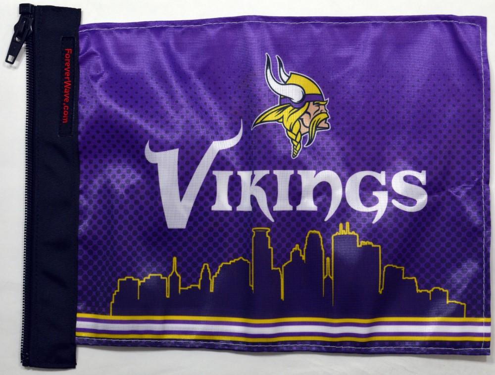 Forever Wave 5077 Minnesota Vikings Flag