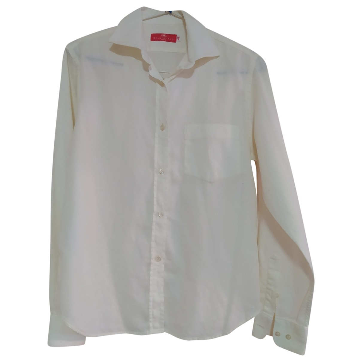 Balenciaga \N Hemden in  Gelb Baumwolle