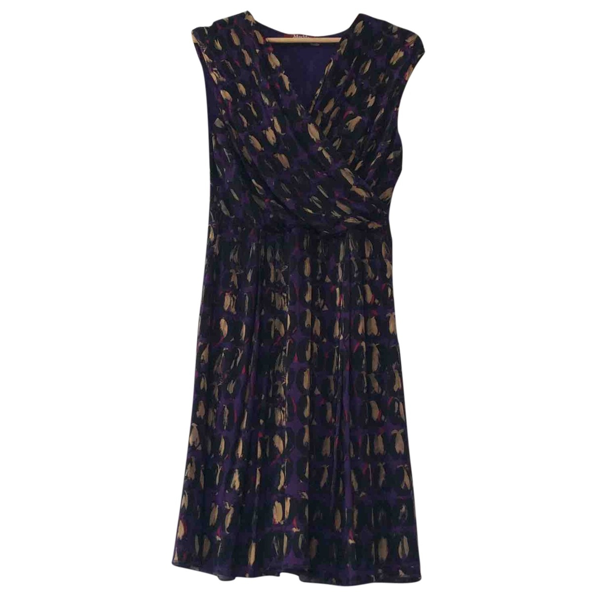 Max Mara Studio \N Multicolour Silk dress for Women L International