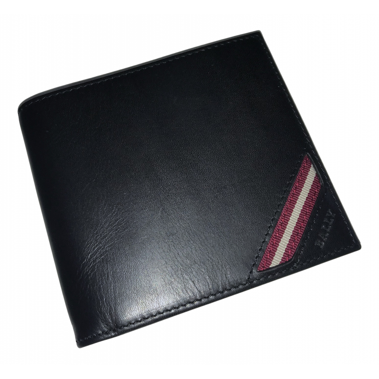 Bally N Black Leather Small bag, wallet & cases for Men N