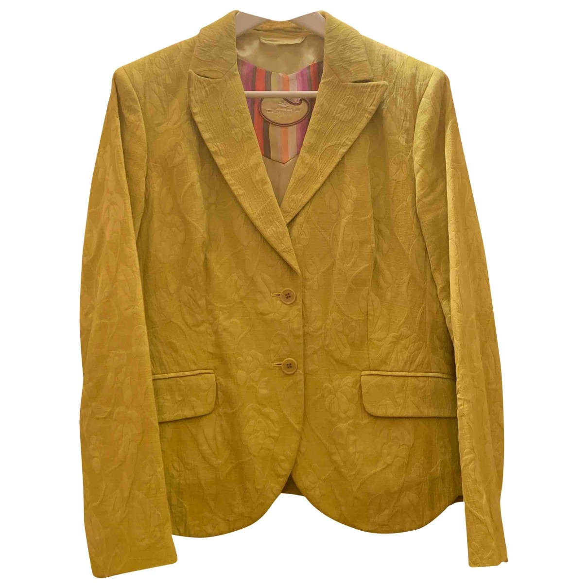 Etro - Veste   pour femme en coton - vert