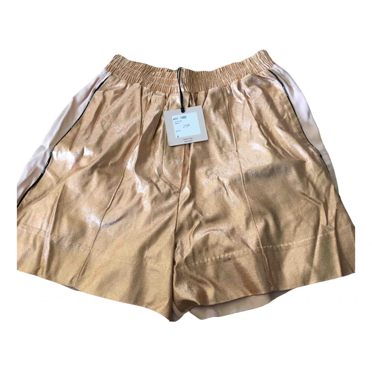Nudie \N Shorts in  Rosa Viskose