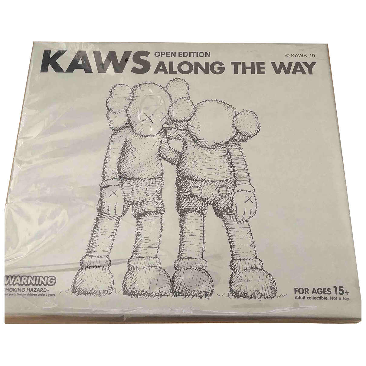 Kaws - Art   pour lifestyle en autre - gris