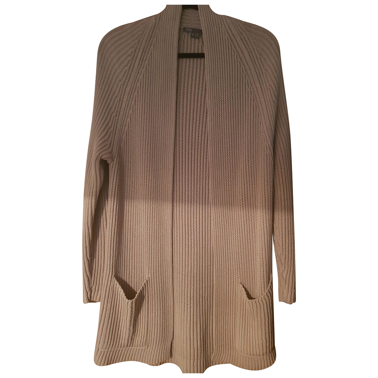 Vince \N Camel Cotton Knitwear for Women XS International