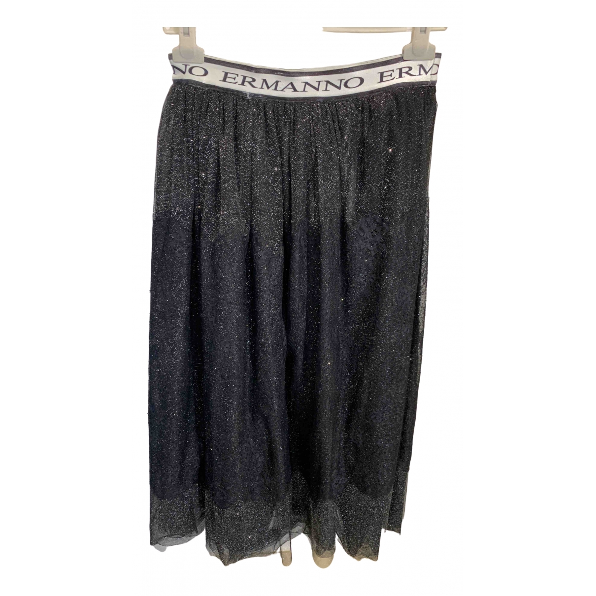 Ermanno Scervino \N Black skirt for Women 38 IT
